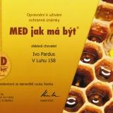 Ochranná známka Med jak má být – med medovicový