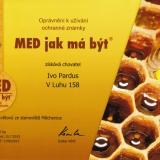 Ochranná známka Med jak má být – med květový