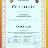 Certifikát-Český-med---med-medovicový